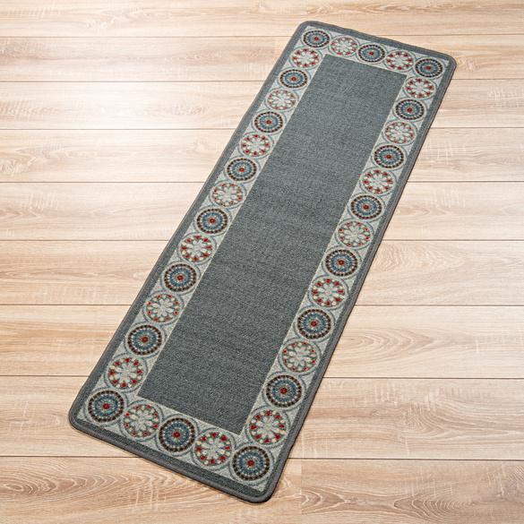 Teppich grau-anthrazit, 40 x 60 cm