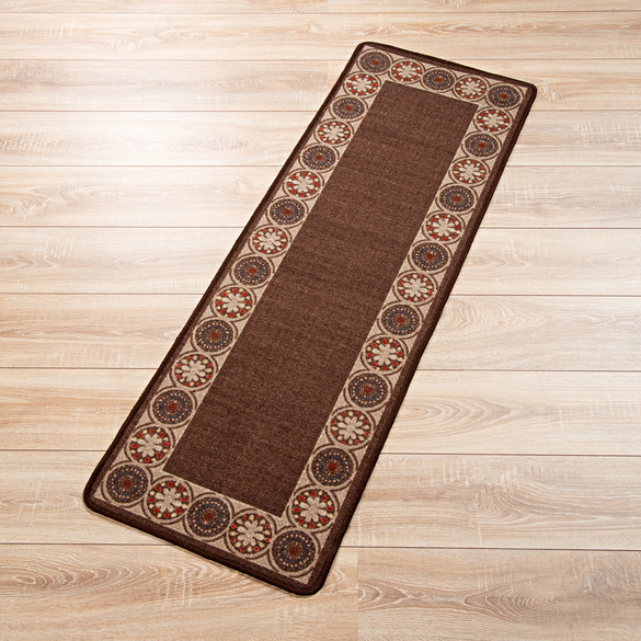Teppich braun, 57 x 240 cm