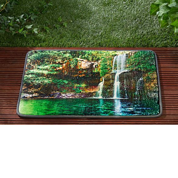"Gartenmatte ""Wasserfall"", 40 x 60 cm"