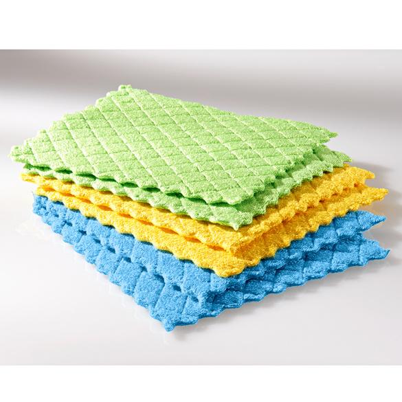 Mikrofaser-Schwammtücher, 6er-Set