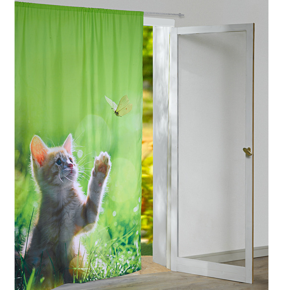 "Vorhang ""Katze"""