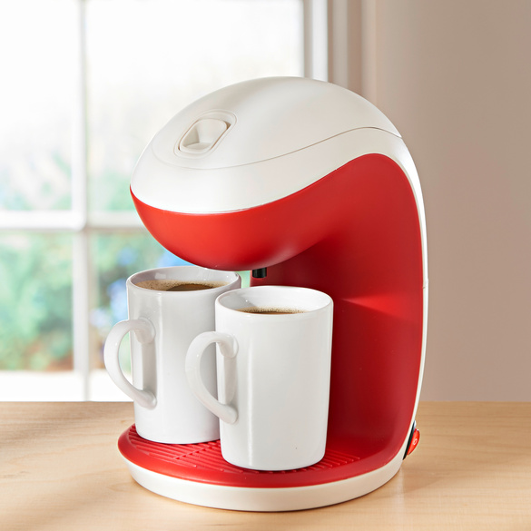 2-Tassen-Kaffeemaschine