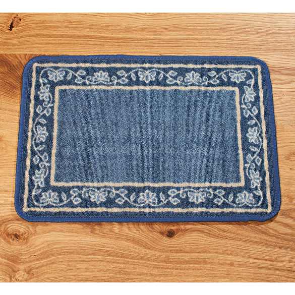 "Teppich ""Provence"" azur, 40 x 60 cm"