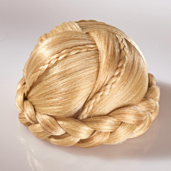 Haarzopf zum Anstecken, blond