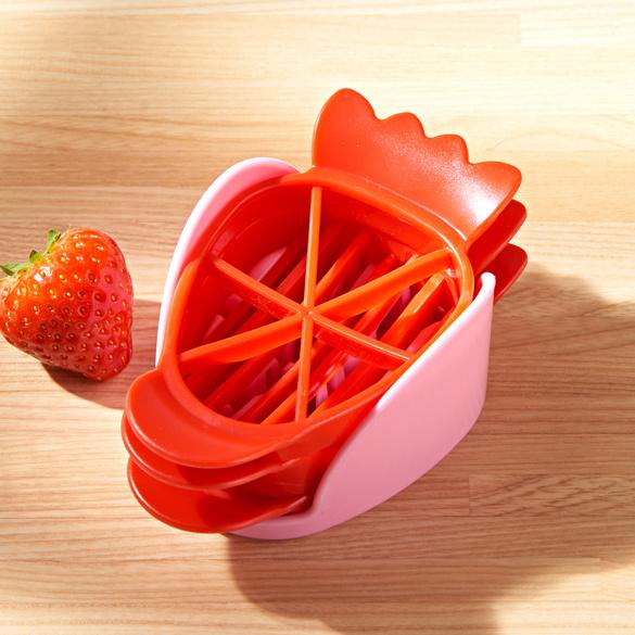 Erdbeerschneider, 4-tlg.