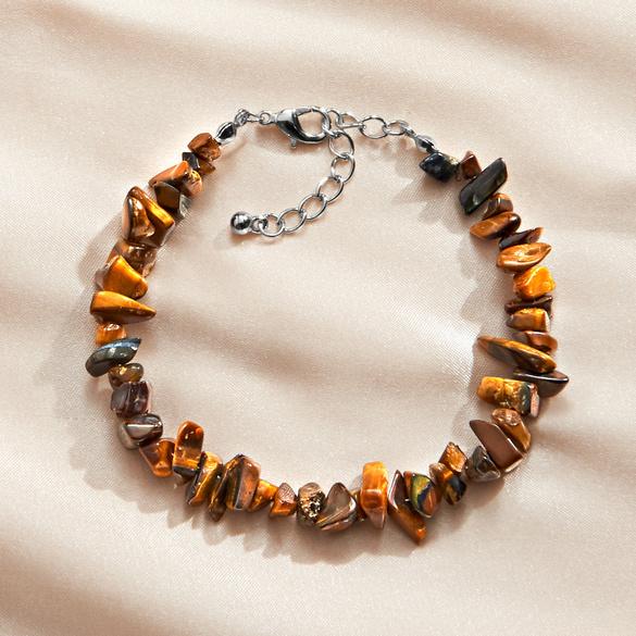 Tigerauge-Armband