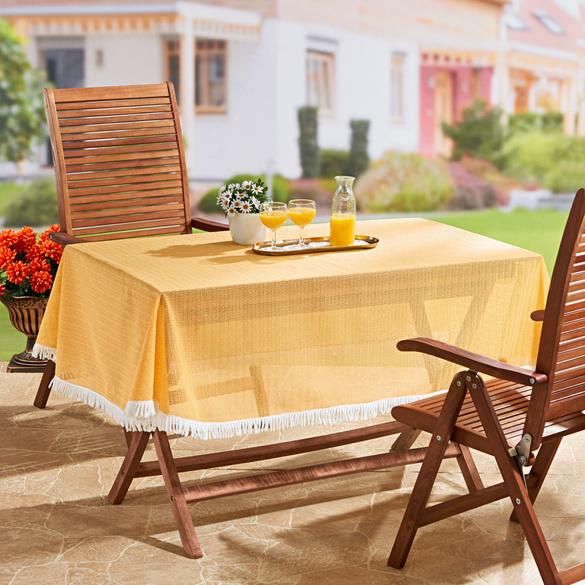 XL-Tischdecke gelb