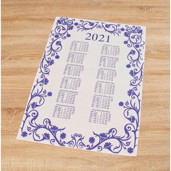 Geschirrtuch-Kalender 2021