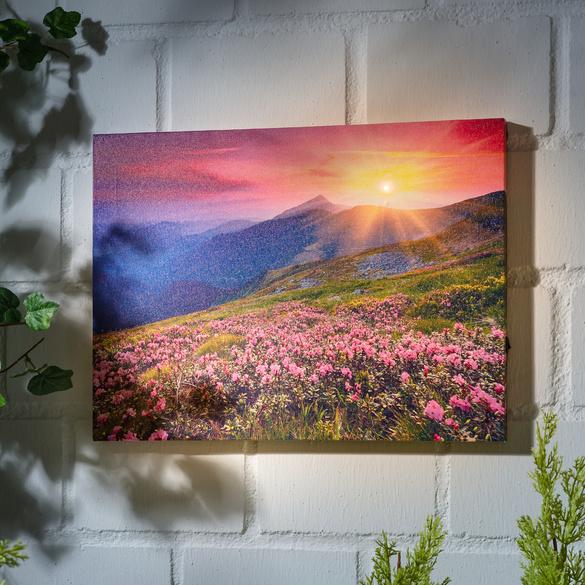 "LED-Bild ""Sonnenuntergang"""