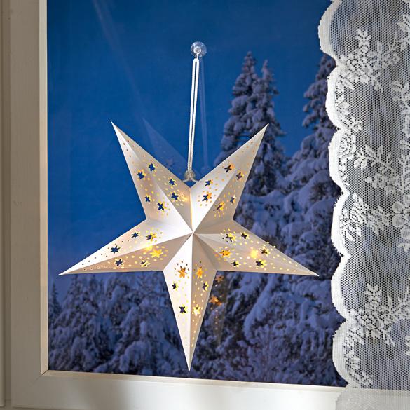 LED-Weihnachtsstern weiß