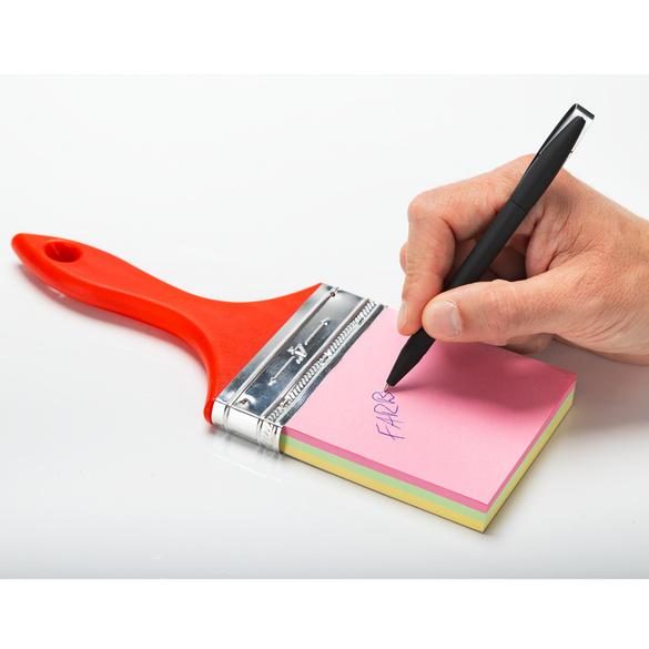 Notizblock Farbpinsel, 150 Blatt
