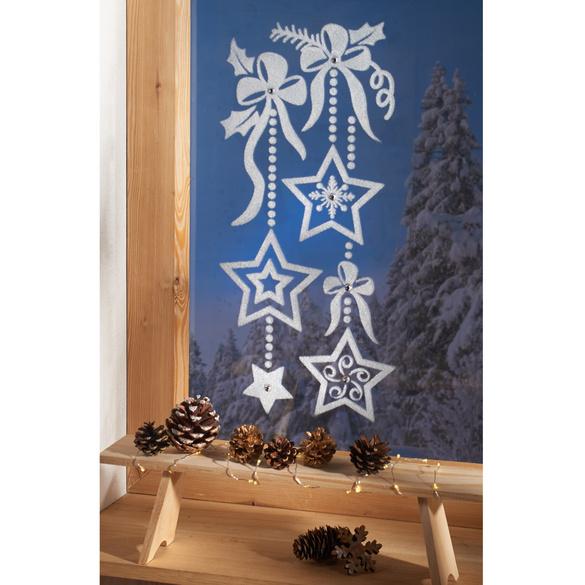 Fensterbild Sterne