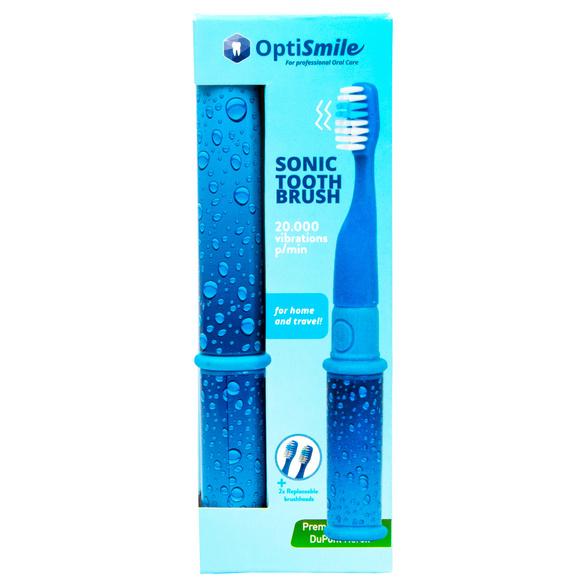 Schall-Zahnbürste blau