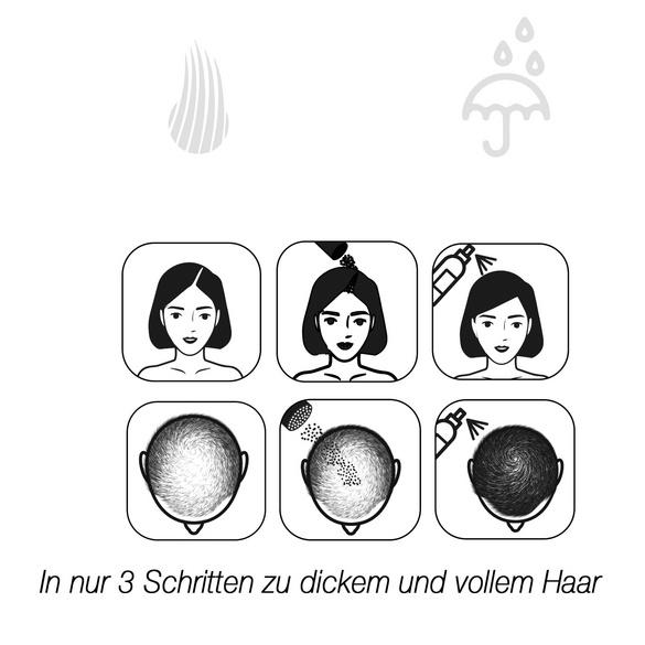 """Schütthaar """"Grau"""""""