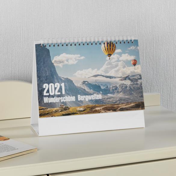 """Wandkalender """"Bergwelten"""" 2021"""