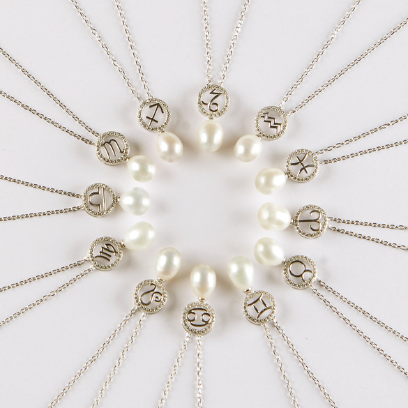"Perlenkette ""Zwilling"""