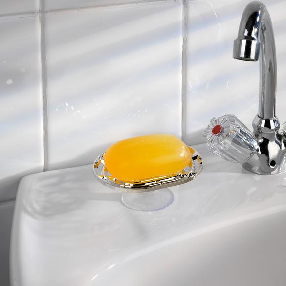 Seifenschale chromfarben