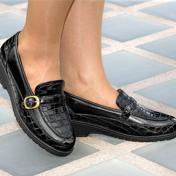 """Schuh """"Nicole"""" schwarz"""