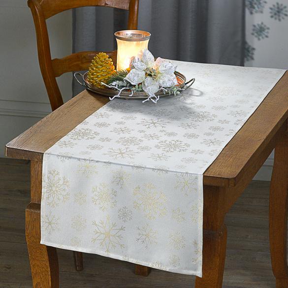 """Tischläufer """"Eisstern"""", 40 x 140 cm"""