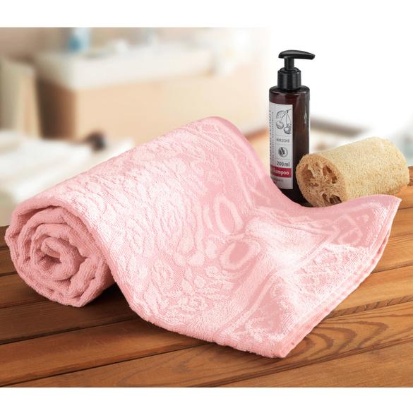 """Handtuch """"Rosali"""" rosa"""