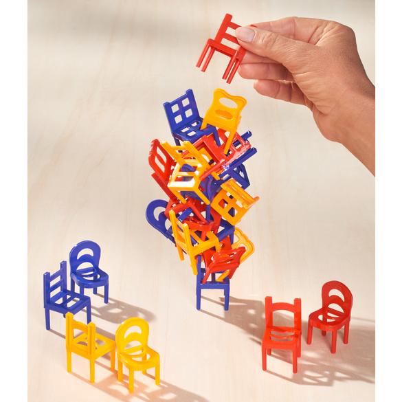 """Balance-Spiel """"Stühle"""""""