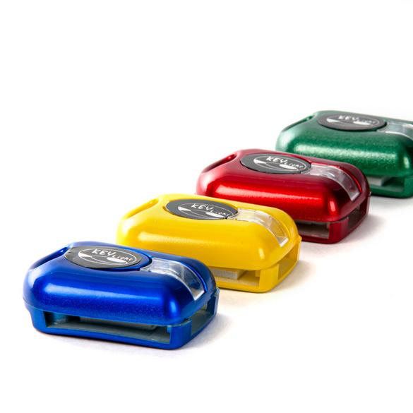 LED-Schlüssellichter blau + gelb