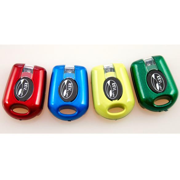 LED-Schlüssellichter rot + grün, 2er-Set