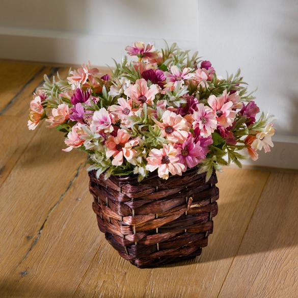 Korb mit Blumen