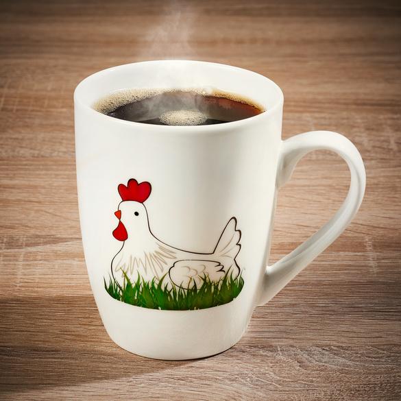 """Kaffeetasse """"Huhn"""""""