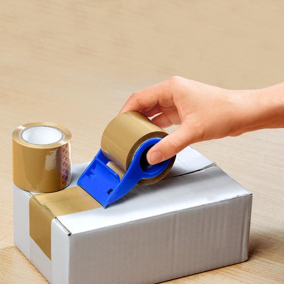 Paketband-Abroller + 2 Rollen