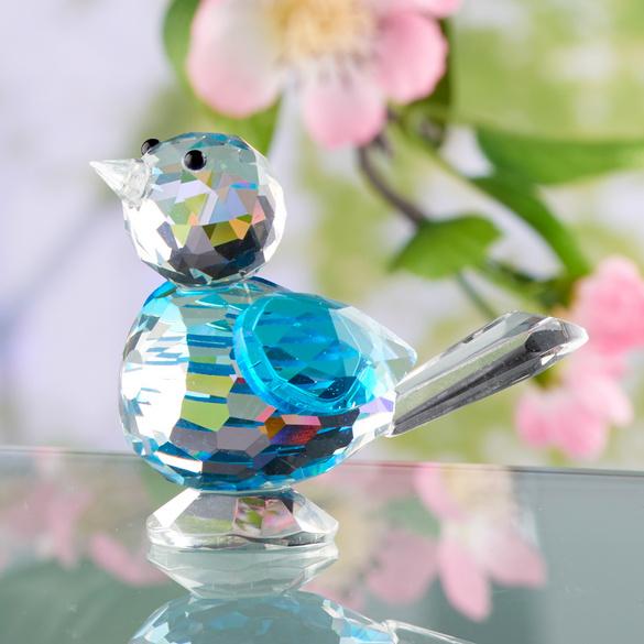 """Kristall-Vögelche """"Blaumeise"""""""