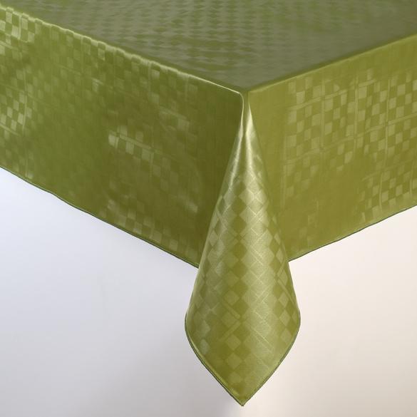 """Wachstischdecke """"Karo"""" grün 110 x 140 cm"""