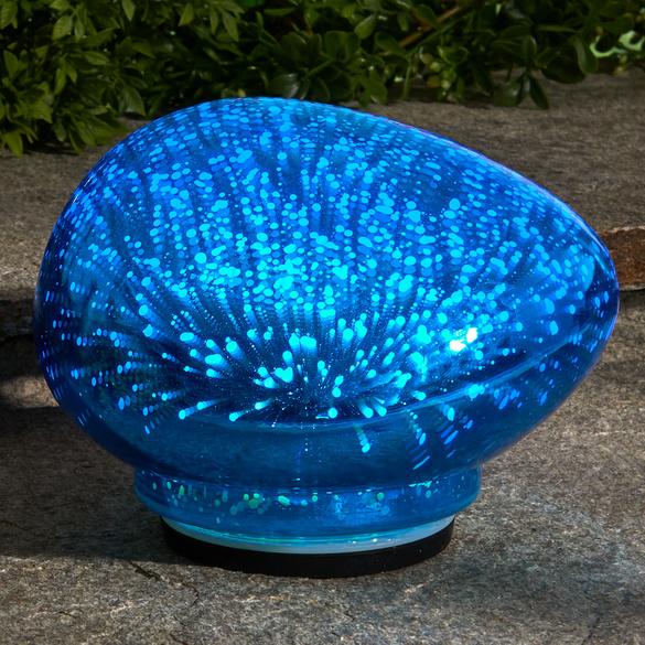 LED-Leuchtstein blau