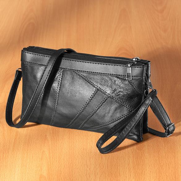 """Handtasche """"Beate"""" schwarz 23 x 14 x 5 cm"""