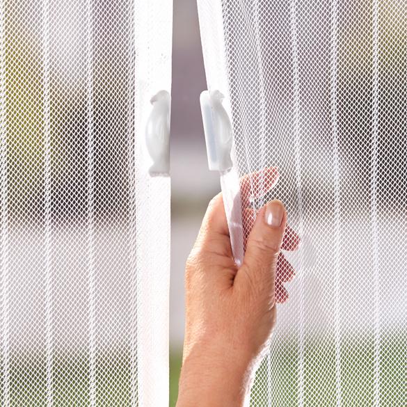 Insektenvorhang mit Magnet, weiß 100 x 210 cm