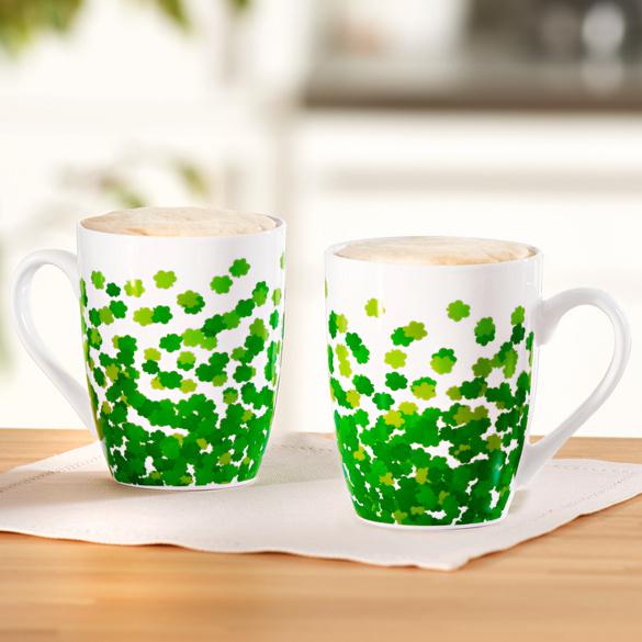 """Kaffeetasse """"Kleeblatt"""""""