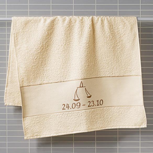 "Handtuch ""Waage"" beige Casa Bonita"
