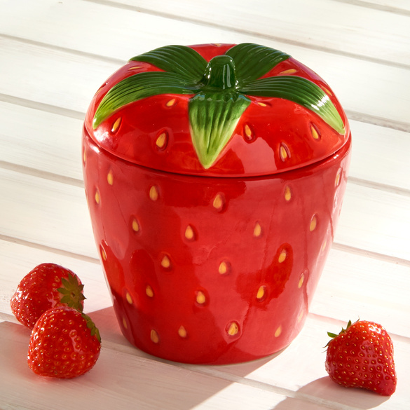 "Marmeladentopf ""Erdbeere"" Basilico"