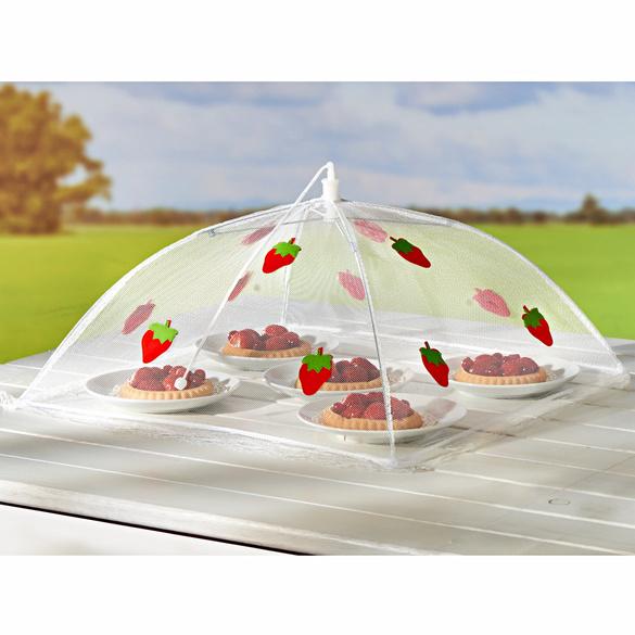 "Abdeckhaube ""Erdbeere"" groß 40 x 40 cm"