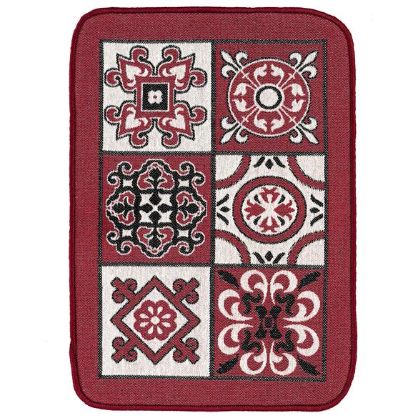 Küchenteppich rot 60 x 45 cm