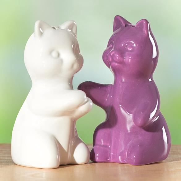 """Salz- und Pfefferstreuer """"Katzen"""""""