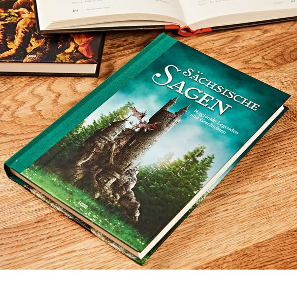 """Buch """"Sächsische Sagen"""""""