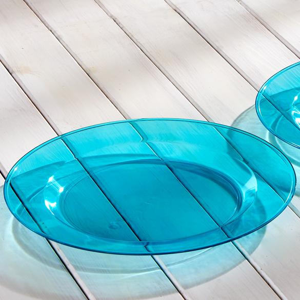 Teller blau, 2er-Set