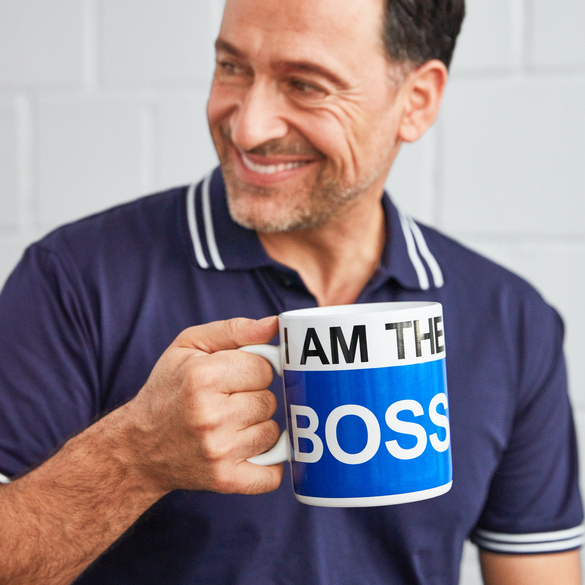 "Becher ""I`m the Boss"""
