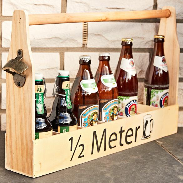 Holzflaschenhalter