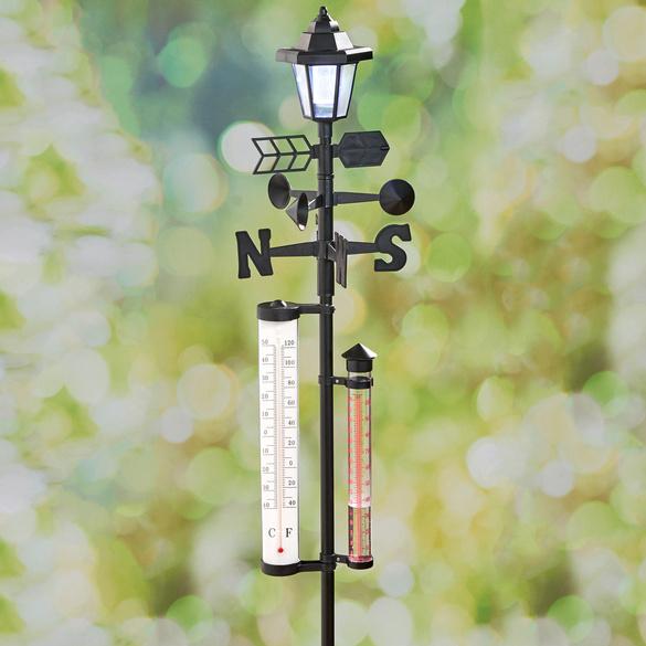 Solar-Wetterstation 4-in-1