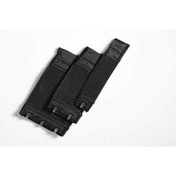 BH-Verschluss- einsätze 3er-Set schwarz