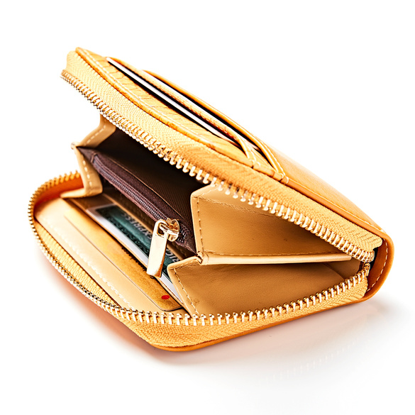 Geldbörse senf