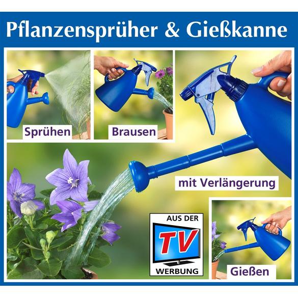 Pflanzensprüher & Gießkanne 2-in-1
