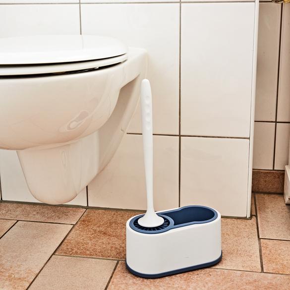 WC-Silikonbürste + Ständer